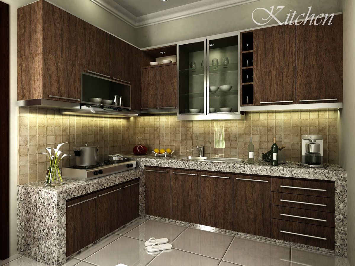 Contoh design kitchen set kami zarissa interior design Great kitchen ideas for small kitchen